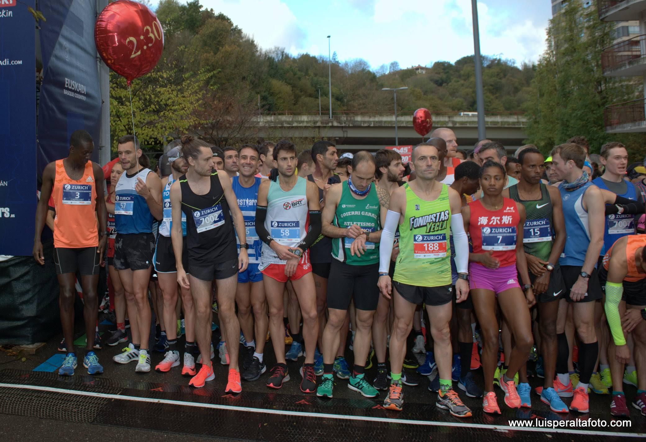 Salida Maratón Donosti