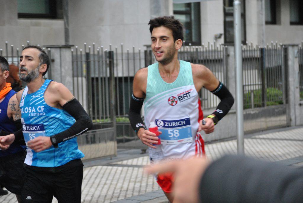 avituallamiento en maratón